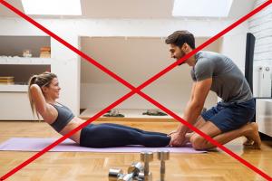 Physiotherapie Deuser & Bauer Bauchmuskulatur richtig trainieren