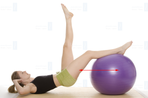 Physiotherapie Deuser & Bauer Mannheim Ischiocrurale Muskulatur hintere Oberschenkelmuskulatur Pezziball Training