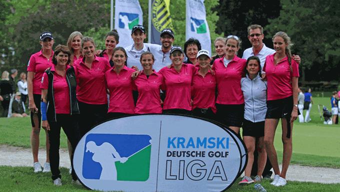 Physiotherapie Deuser Bauer Golfclub St. Leon Rot Damen Mannschaftsbetreuung Margit Deuser
